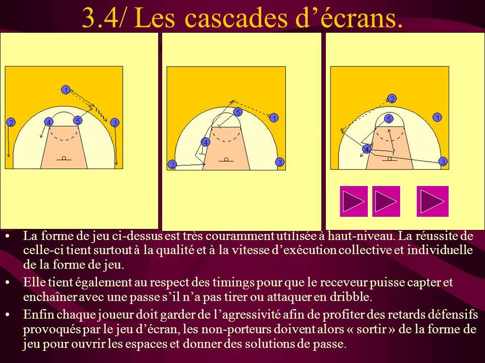 3.4/ Les cascades d'écrans.