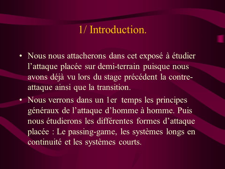 1/ Introduction.