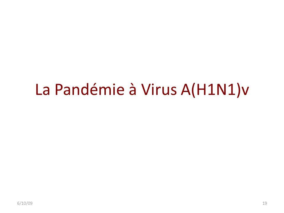 La Pandémie à Virus A(H1N1)v