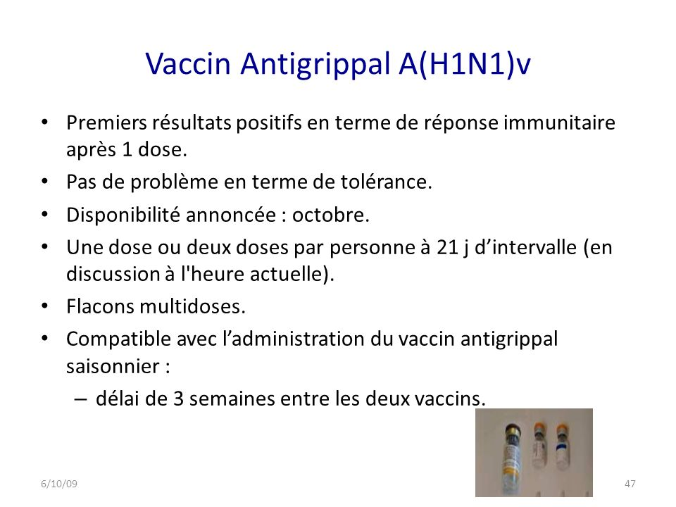 Vaccin Antigrippal A(H1N1)v