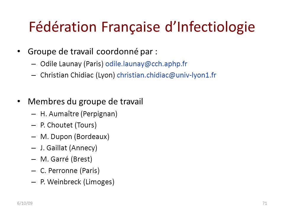 Fédération Française d'Infectiologie