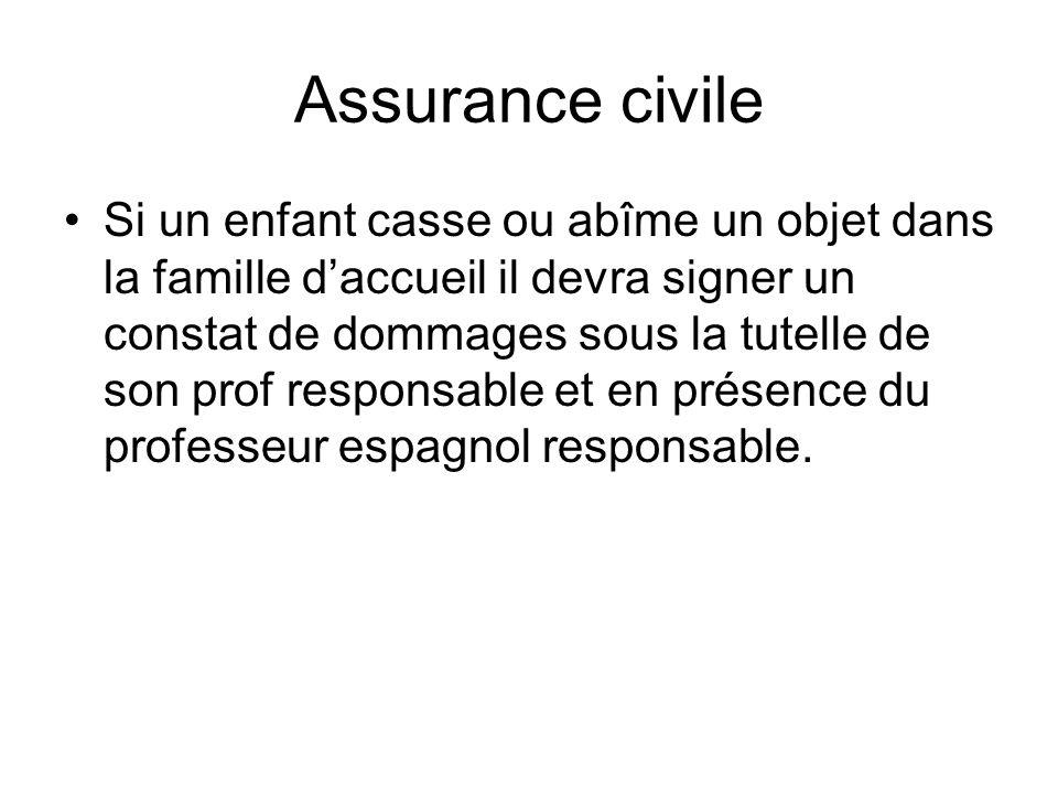 Assurance civile
