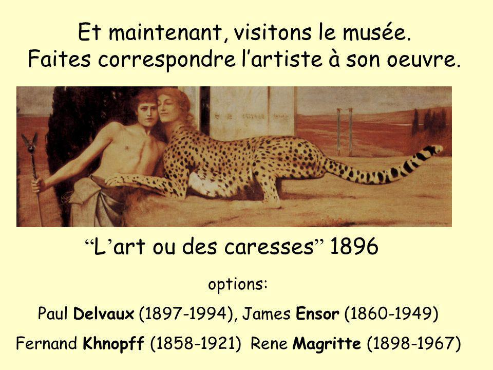 L'art ou des caresses 1896