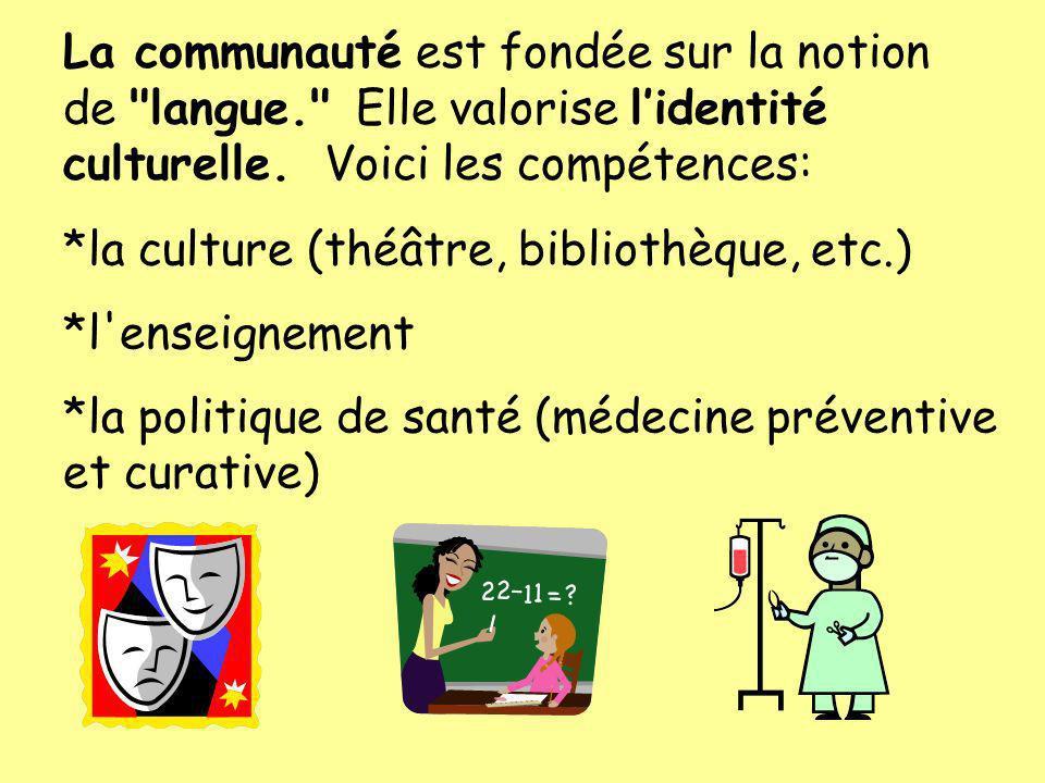 La communauté est fondée sur la notion de langue
