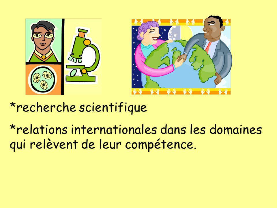 *recherche scientifique