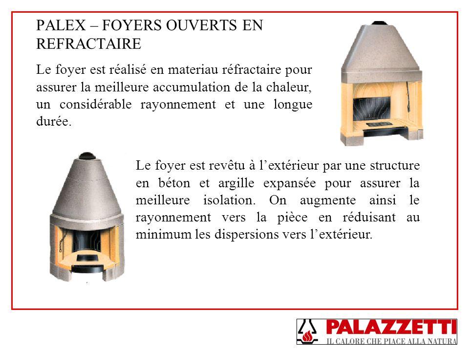 PALEX – FOYERS OUVERTS EN REFRACTAIRE