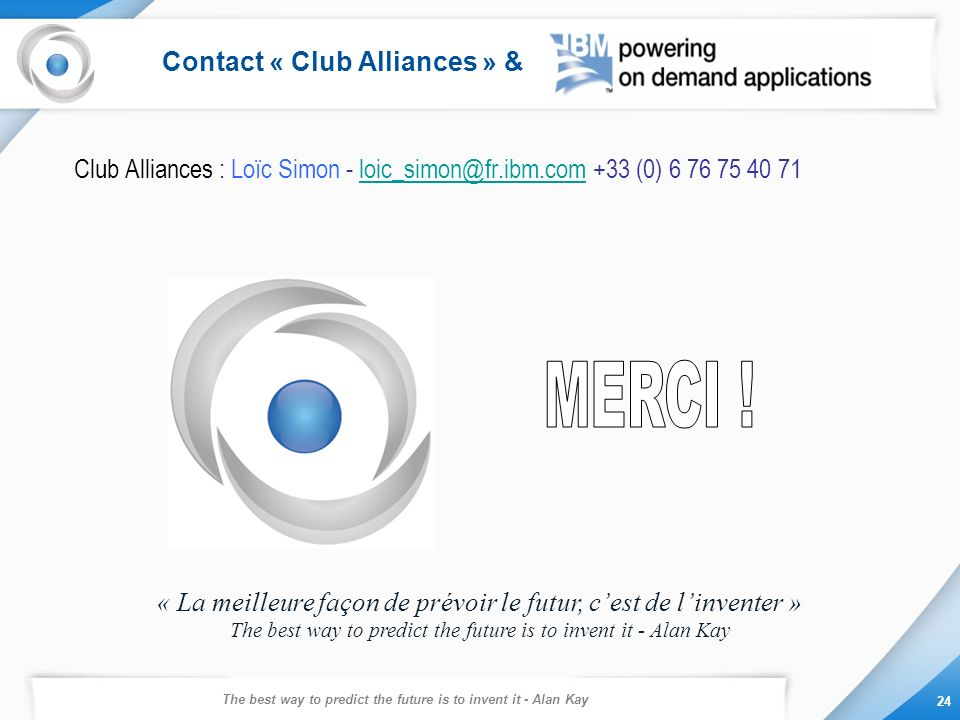 Contact « Club Alliances » &