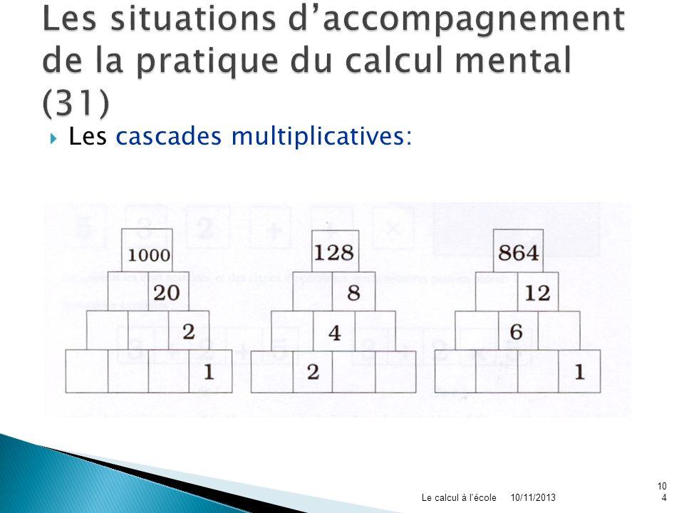 Les situations d'accompagnement de la pratique du calcul mental (31)