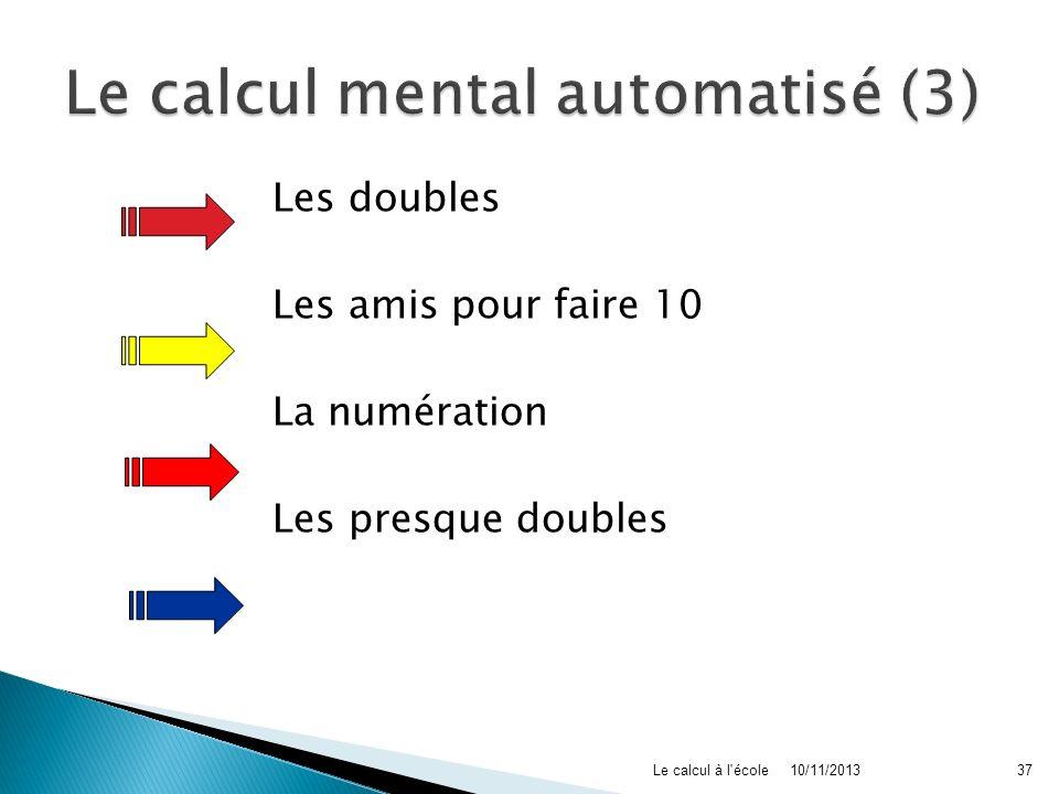 Le calcul mental automatisé (3)