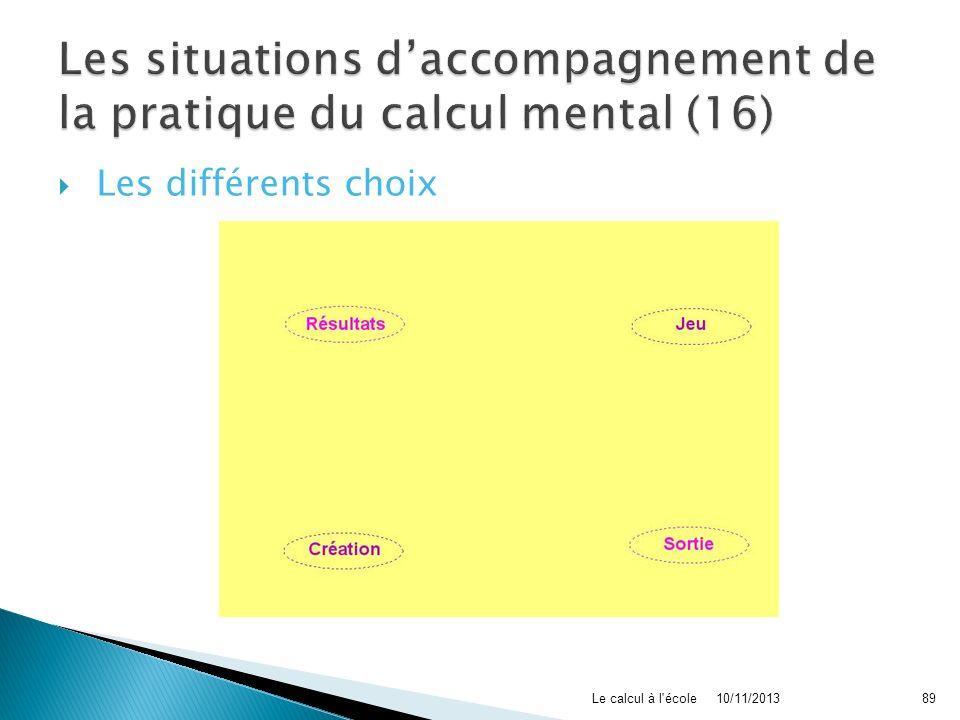 Les situations d'accompagnement de la pratique du calcul mental (16)