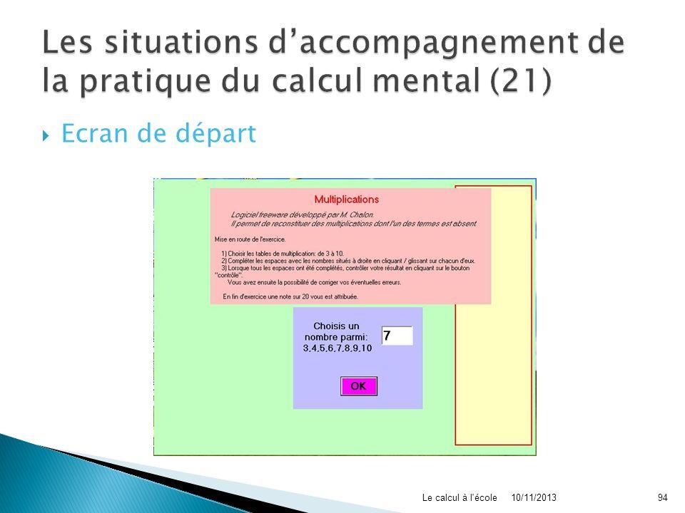 Les situations d'accompagnement de la pratique du calcul mental (21)