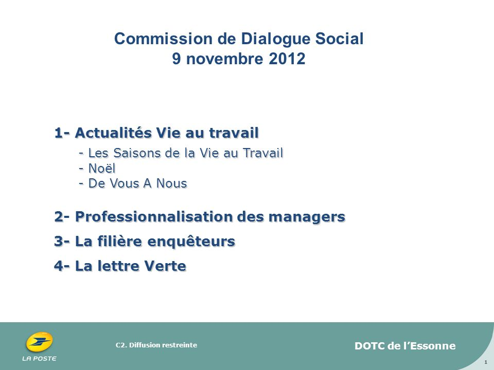 Commission de Dialogue Social