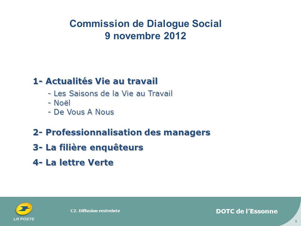 Commission de Dialogue Social