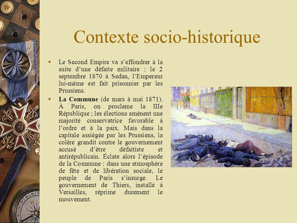 Contexte socio-historique