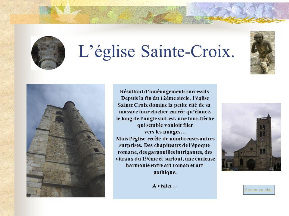 L'église Sainte-Croix.