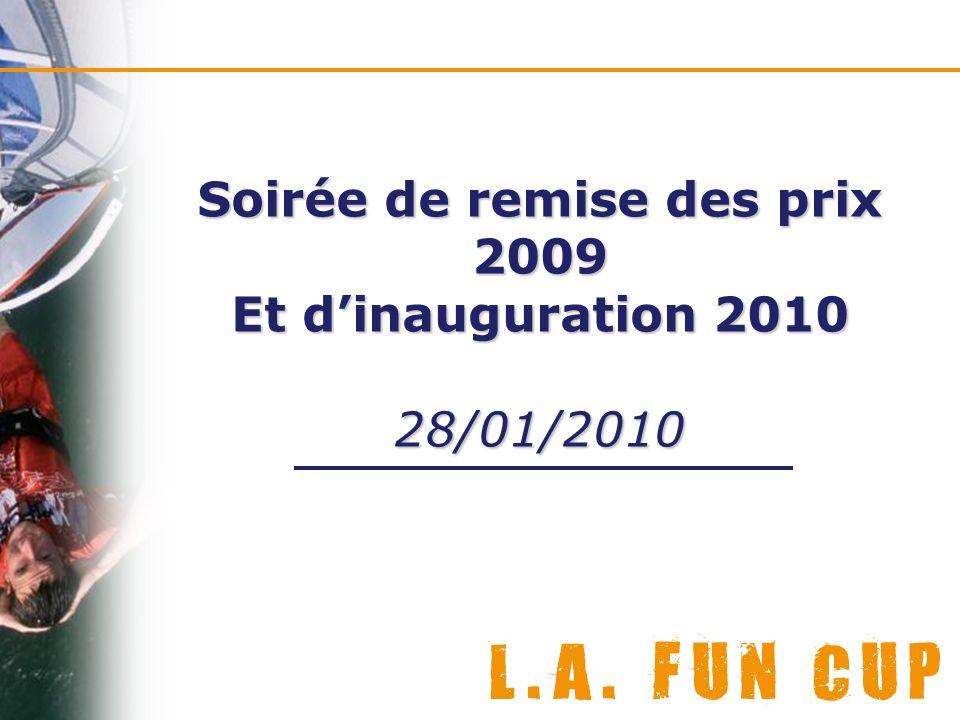 Soirée de remise des prix 2009