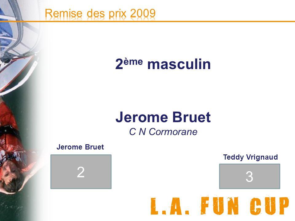 2ème masculin Jerome Bruet