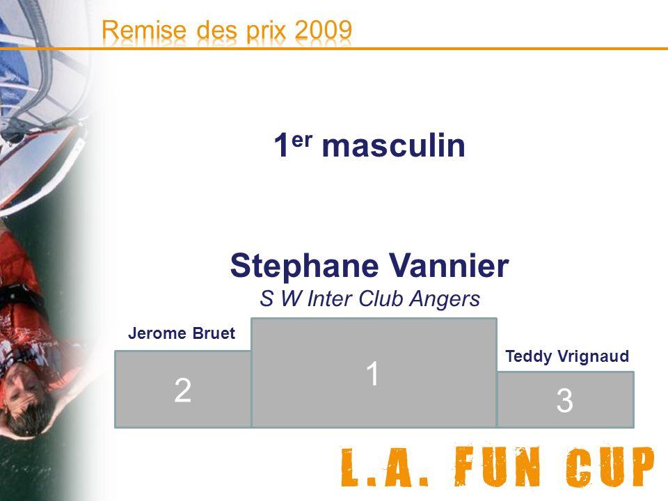 1er masculin Stephane Vannier