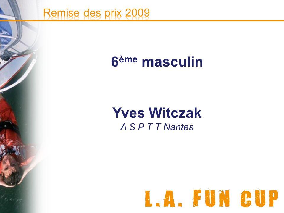 6ème masculin Yves Witczak