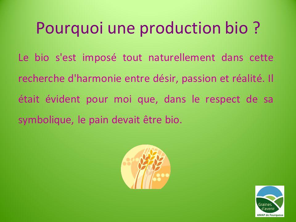 Pourquoi une production bio