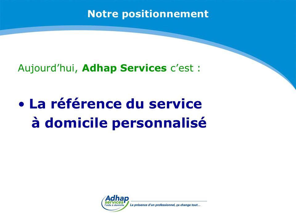 La référence du service à domicile personnalisé