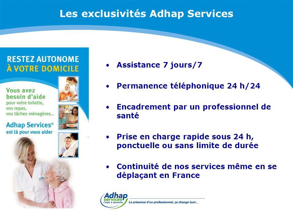 Les exclusivités Adhap Services