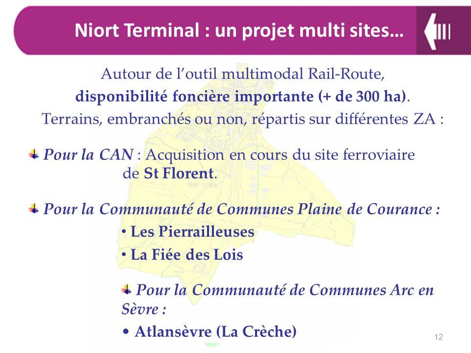 Niort Terminal : un projet multi sites…