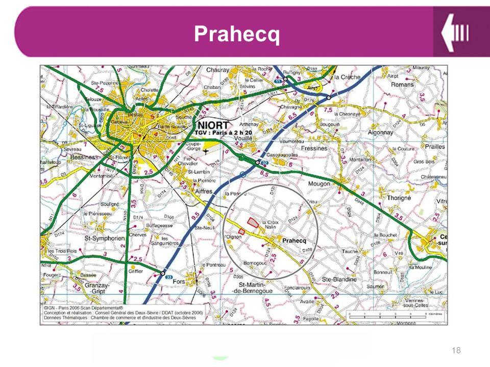 Prahecq ZA qui va disposé très prochainement d'un accès direct à l'autoroute. 18 18