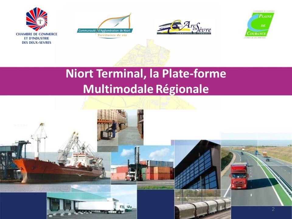 Niort Terminal, la Plate-forme Multimodale Régionale