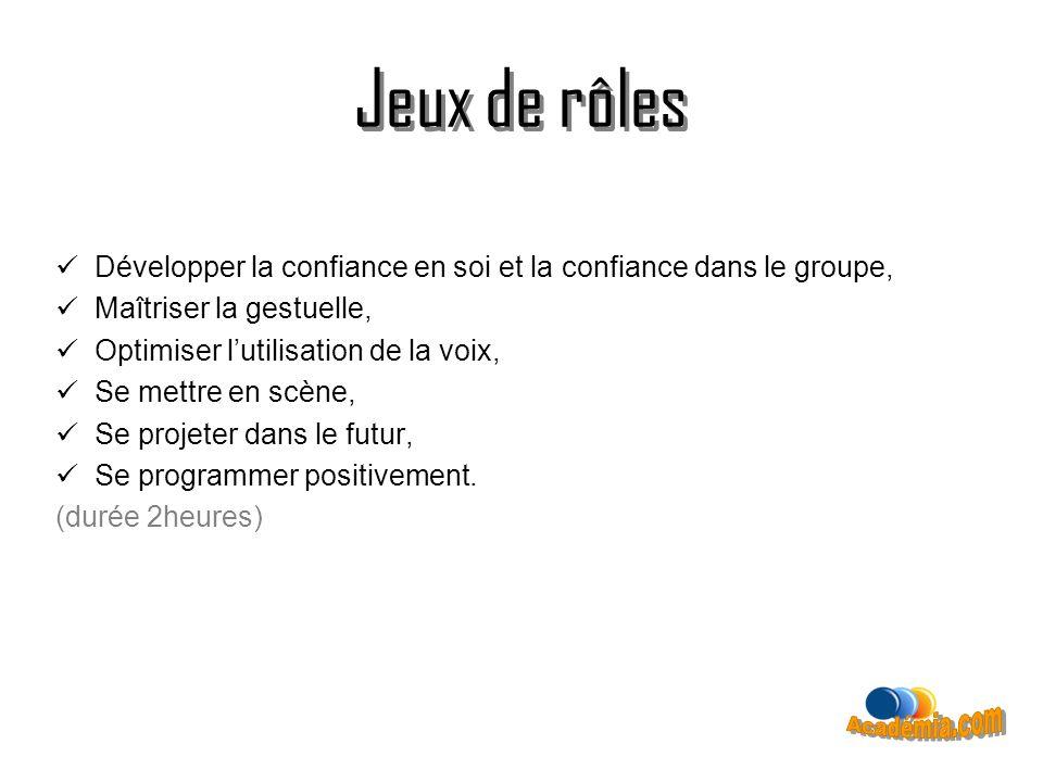 Jeux de rôles Jeux de rôles Académia.com