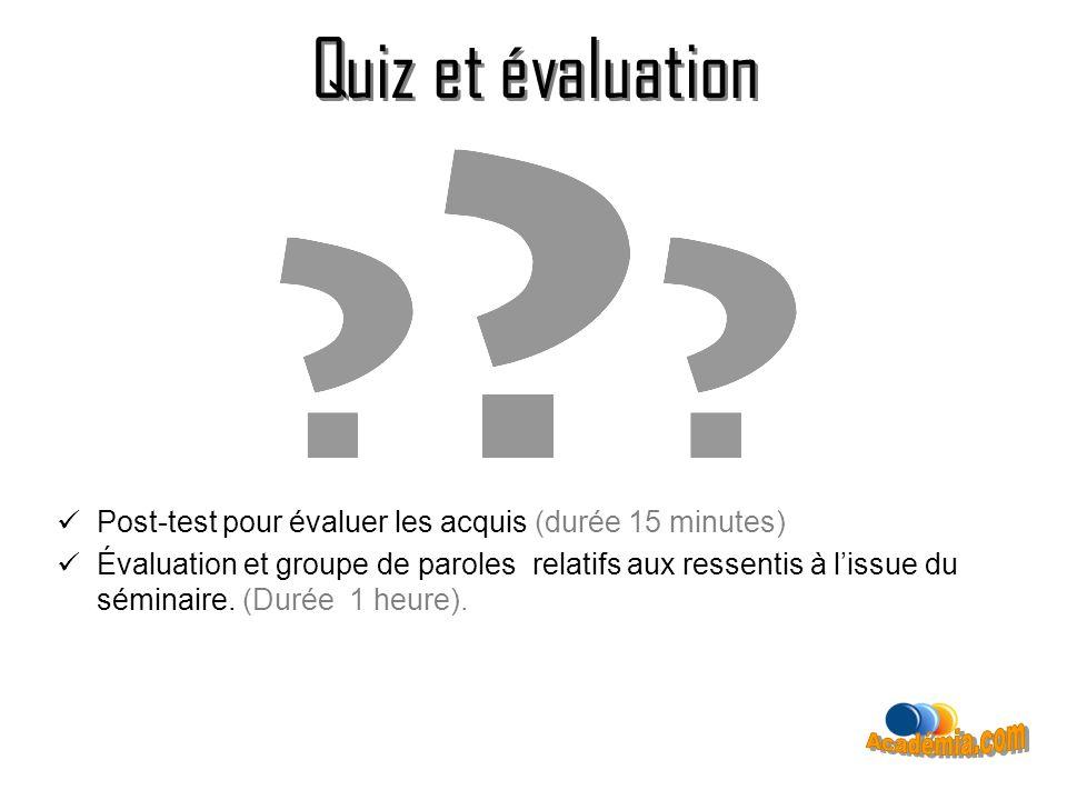 Quiz et évaluation Quiz et évaluation Académia.com