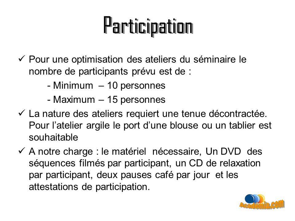Participation Participation Académia.com
