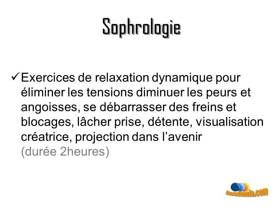 Sophrologie Sophrologie Académia.com