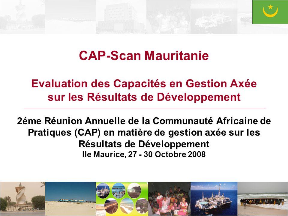 CAP-Scan Mauritanie Evaluation des Capacités en Gestion Axée