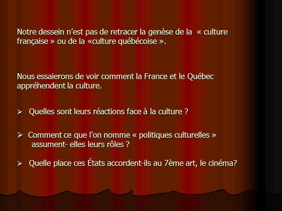 Comment ce que l'on nomme « politiques culturelles »