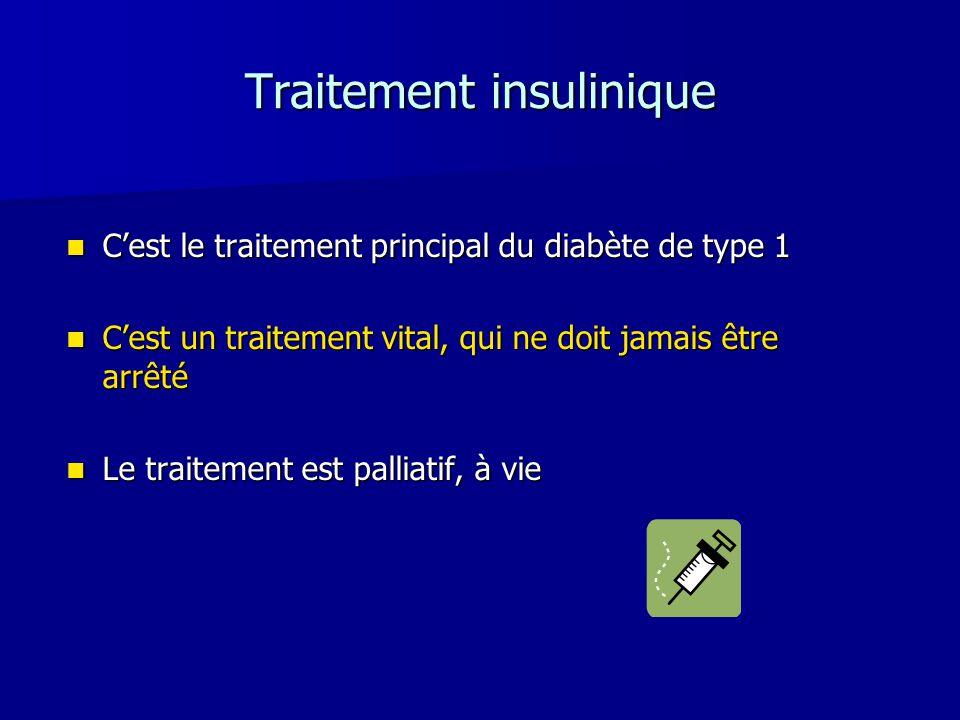 Traitement insulinique
