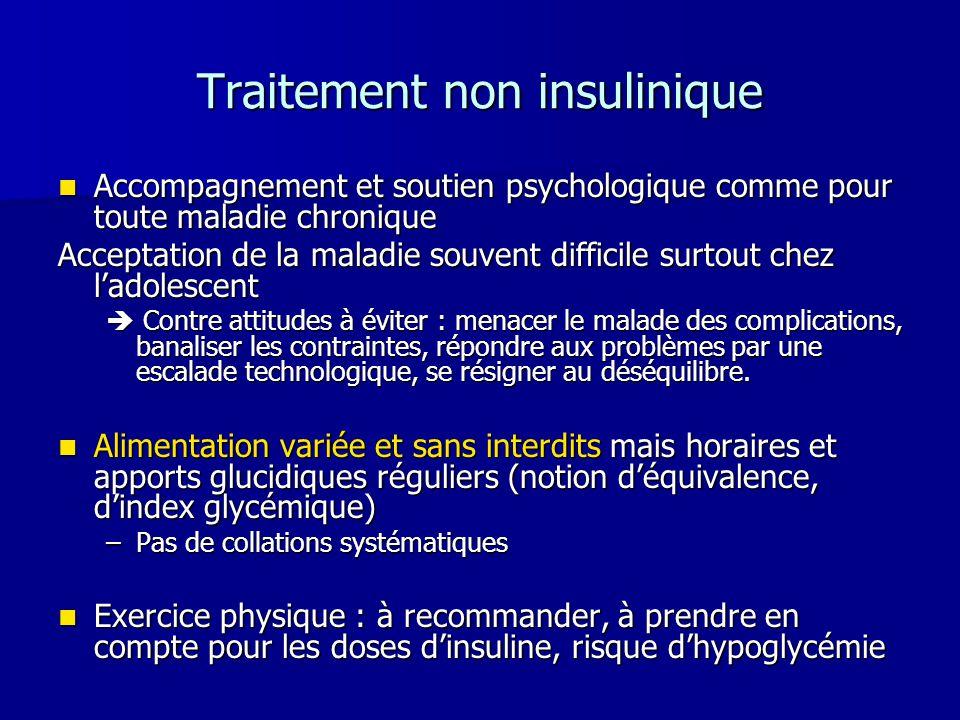 Traitement non insulinique