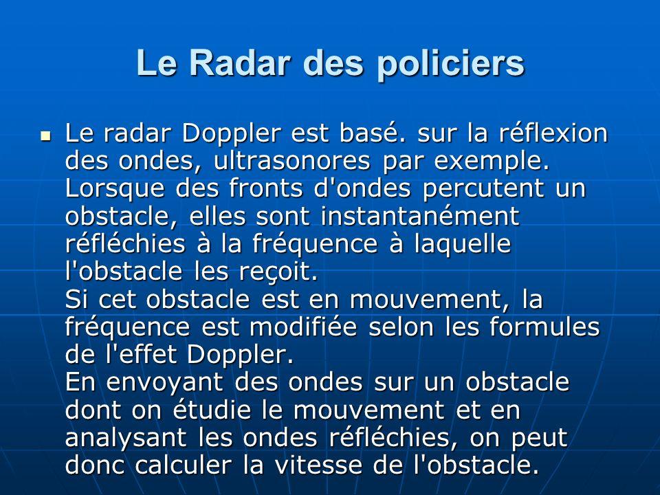 Le Radar des policiers