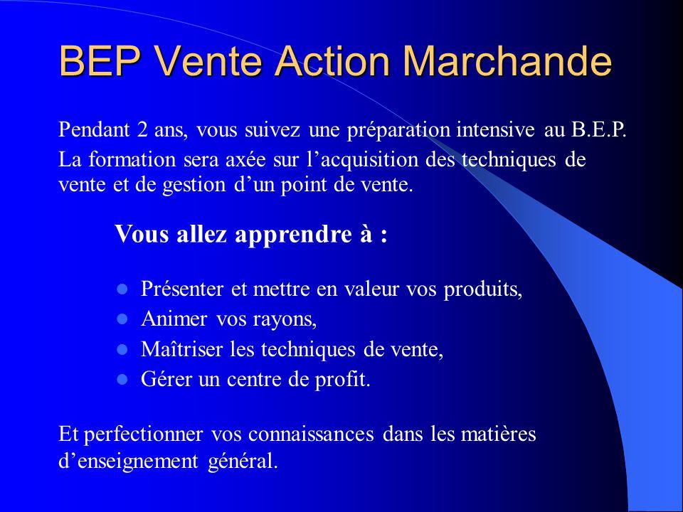 BEP Vente Action Marchande