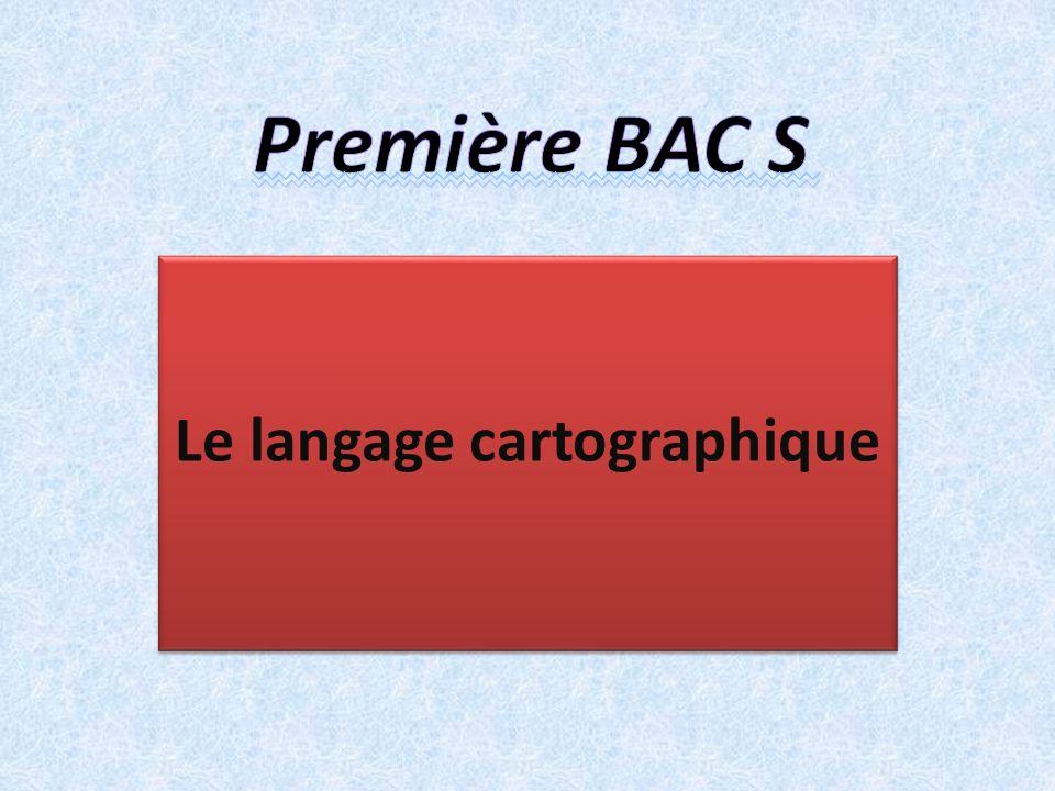 Le langage cartographique