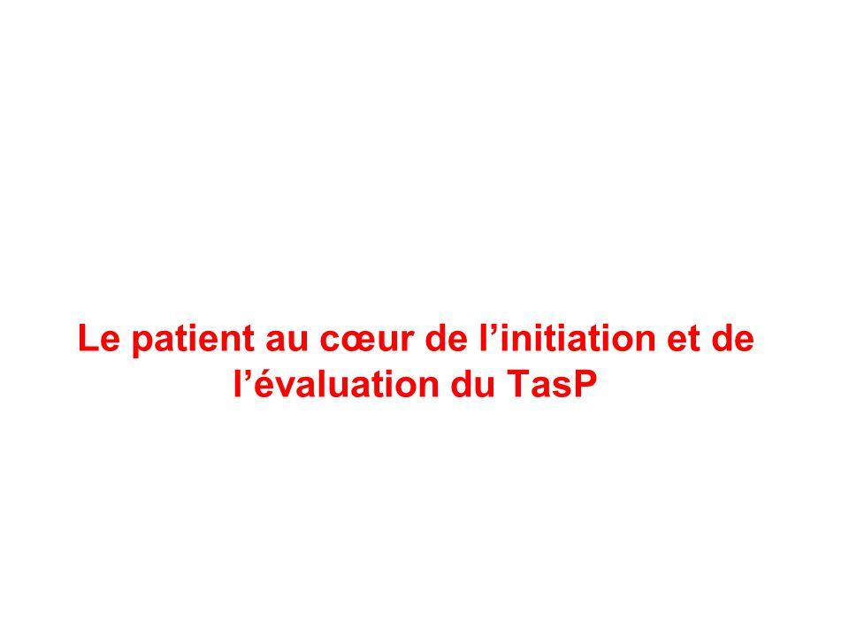Le patient au cœur de l'initiation et de l'évaluation du TasP