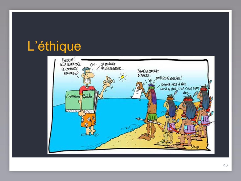 L'éthique 40