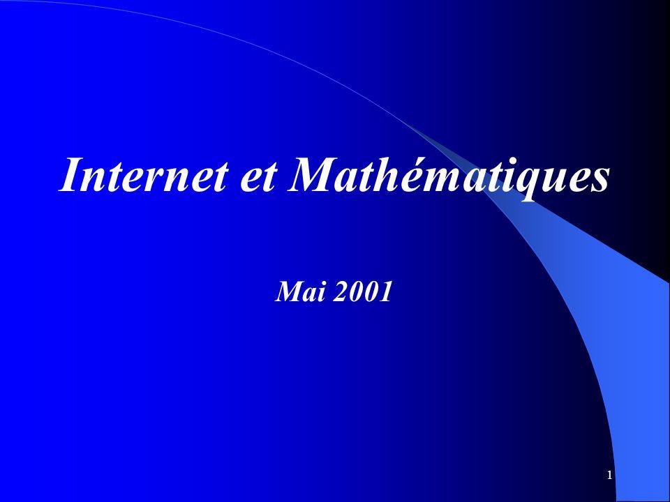 Internet et Mathématiques