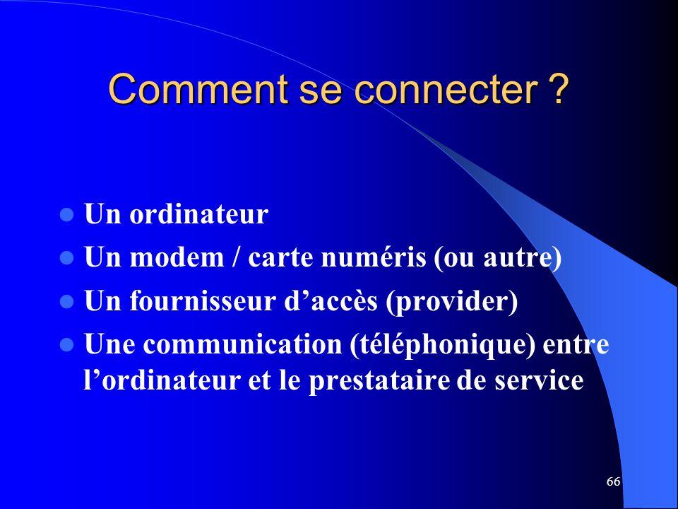 Comment se connecter Un ordinateur