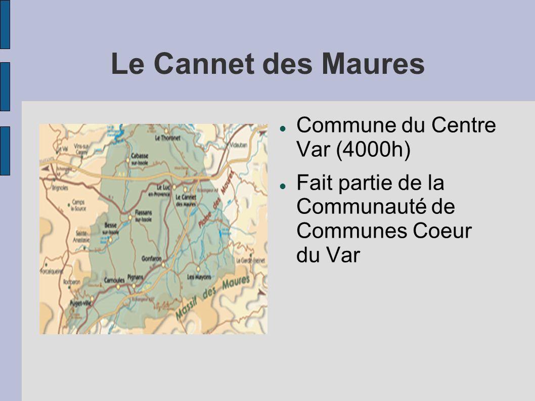 Le Cannet des Maures Commune du Centre Var (4000h)