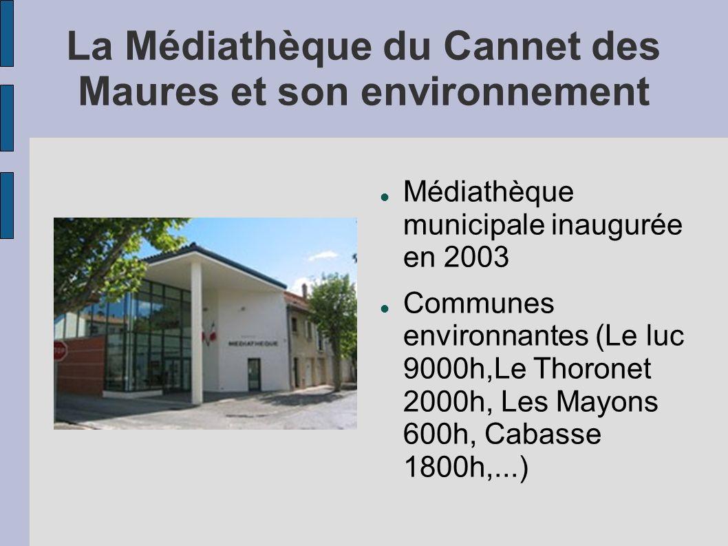 La Médiathèque du Cannet des Maures et son environnement