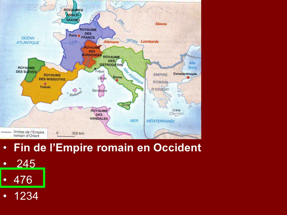 Fin de l'Empire romain en Occident
