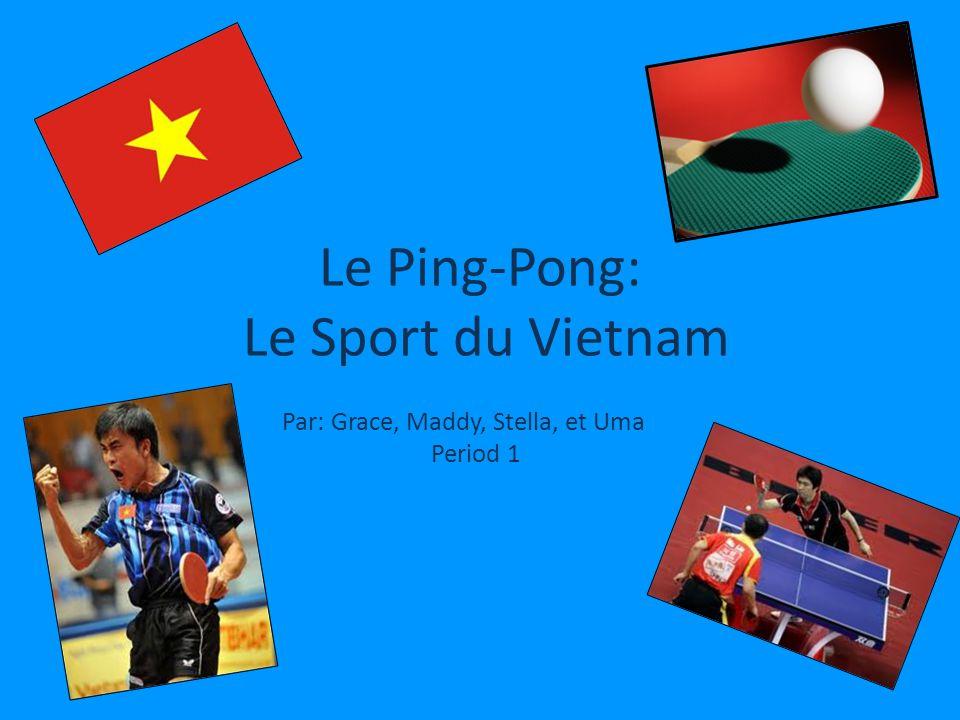 Le Ping-Pong: Le Sport du Vietnam
