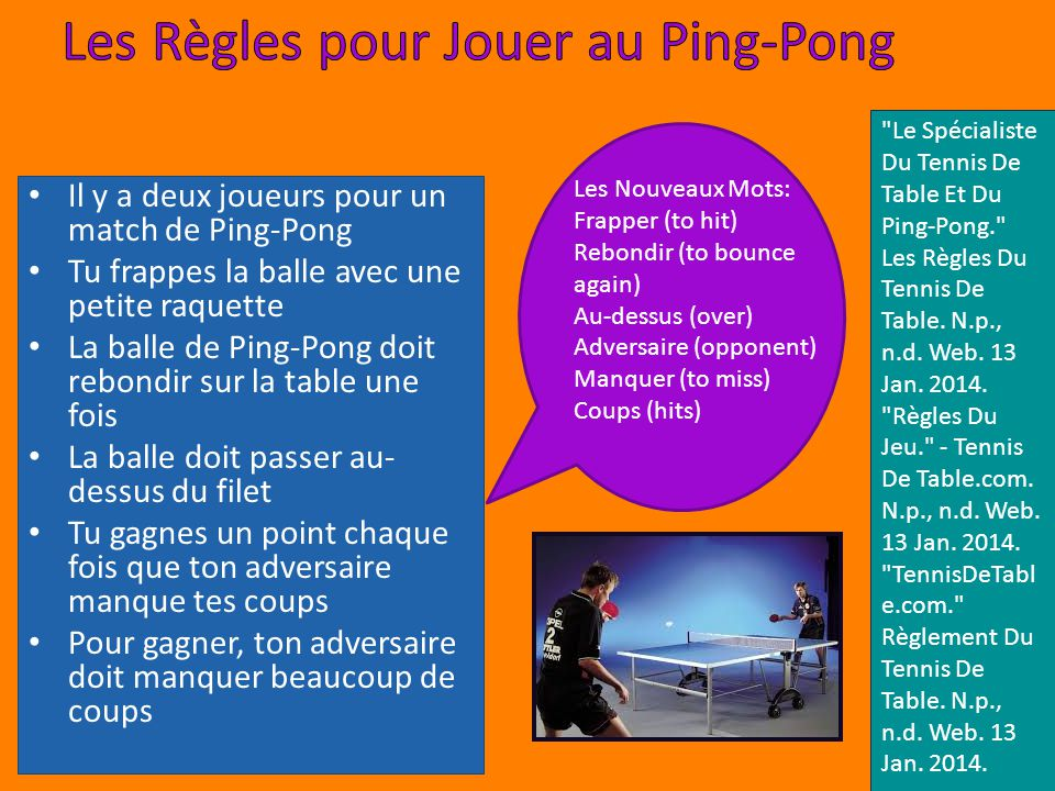 le ping pong le sport du vietnam ppt t l charger. Black Bedroom Furniture Sets. Home Design Ideas