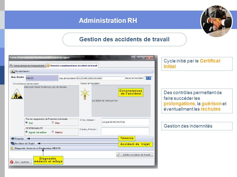 Gestion des accidents de travail
